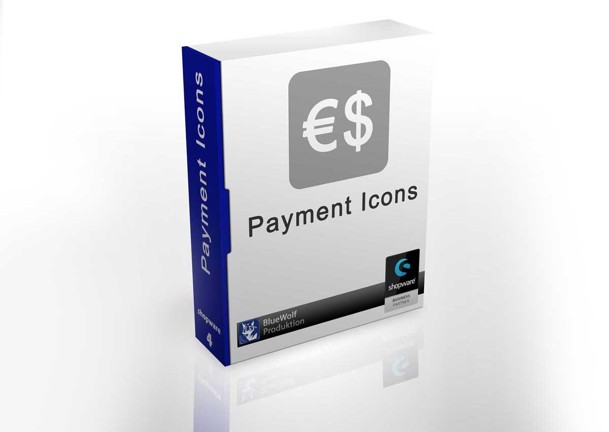 payment icons bluewolf produktion webdesign. Black Bedroom Furniture Sets. Home Design Ideas