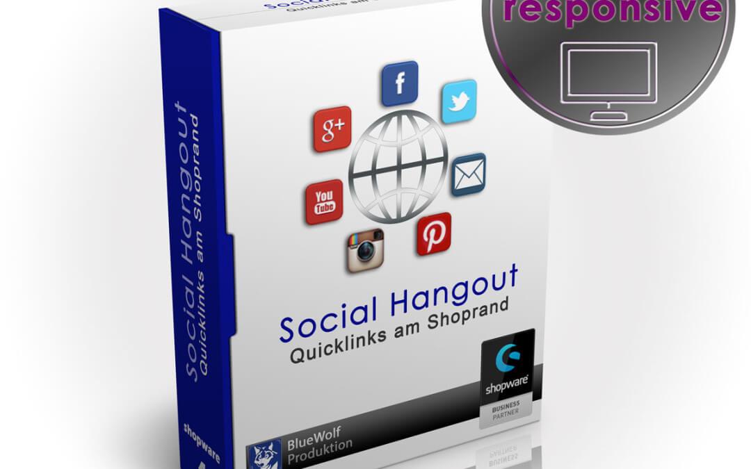 Social Hangout auch für Conexco Template
