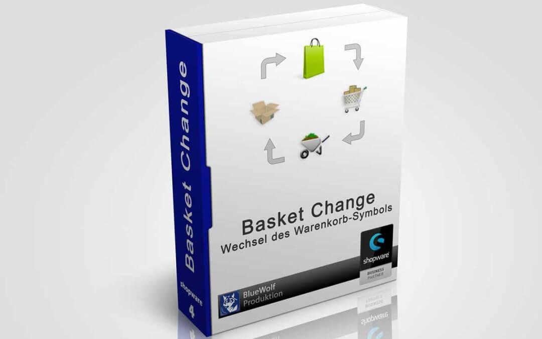 Wechsel Warenkorbsymbol