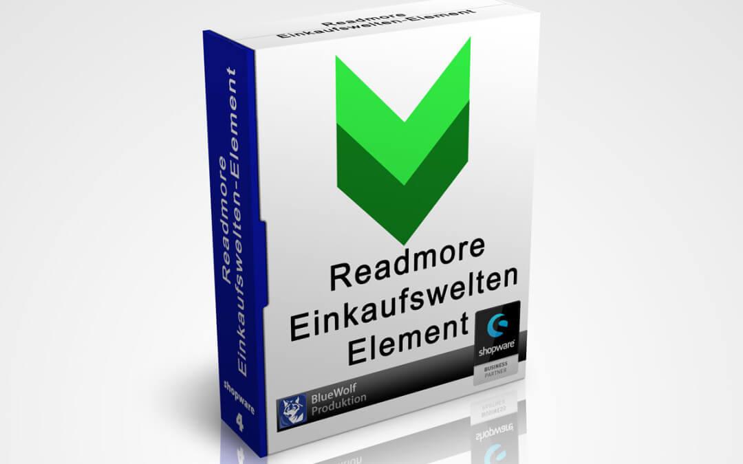 Readmore Einkaufswelten-Element