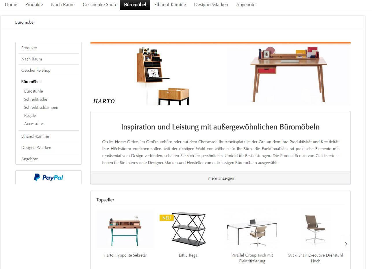 Ausgezeichnet Büromöbel Marken Bilder - Die besten Einrichtungsideen ...