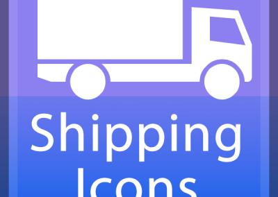 Versand-Logos | Shipping Icons