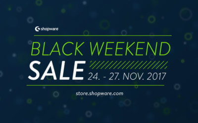 Shopware Black Weekend Sale im Community Store 2017